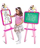 Included Components : 4 Activity Sheets, 1 Easel Board, 1 Marker Pen ,1Duster, 1 Chalk, 1 Stand With Attachments, Pack of 1 Easel Board Item Dimension LxWxH : 38 x 41 x 104 Centimeters Recommended Age: 3 Years and up. Is Assembly Required: No Folds f...