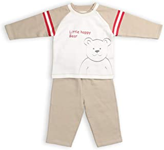 LeJin Baby Clothes Set 0-3 Years Fleece Infant Clothing Set for Fall Winter
