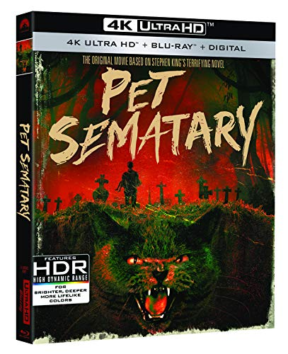 Pet Sematary (1989)  [4K UHD + Blu-ray + Digital] $7.96 - $7.96