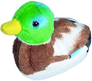 Wild Republic Audubon Mallard Duck with Authentic Quack Plush Toy