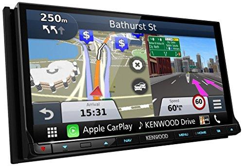Kenwood dnx8160dabs Autoradio mit GPS Schwarz