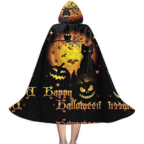 Novelcustom Wizard Cloak,Sootot Scary Halloween Personalisierte Kapuze Zauberer Umhänge Für Zauberer Kostüme Cosplay 88cm