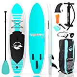 SereneLife Inflatable Stand Up Paddle Board (6...