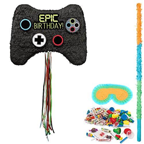 BirthdayExpress Game Party Supplies Controller Pinata Kit