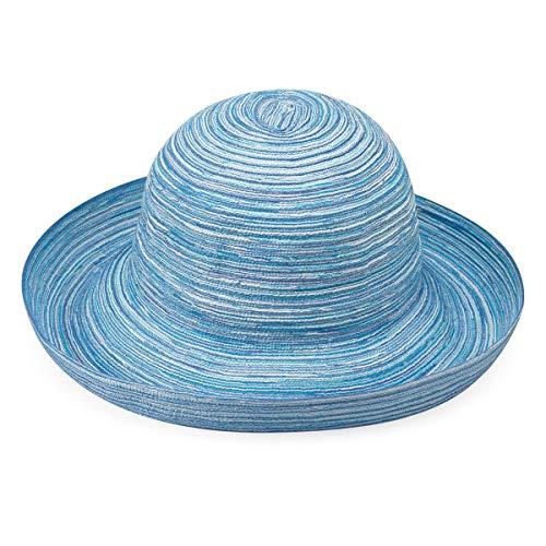 Sydney Sun Hat – UPF 30+, Lightweight, Packable, Broad Brim, Designed in Australia, Light Blue