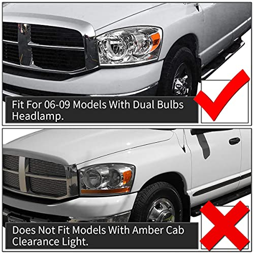 AUTOSAVER88 Headlight For Dodge Ram