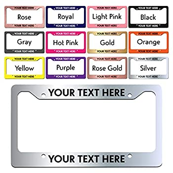 Best personalized license plates covers Reviews