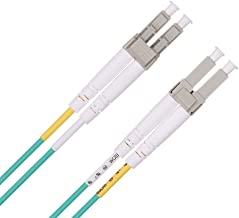 LC to LC Fibre Patch Cable 3m, OM3 Leads Multimode Duplex 50/125 Fiber Optic Cable for 10Gb/Gigabit SFP Transceiver - ipolex