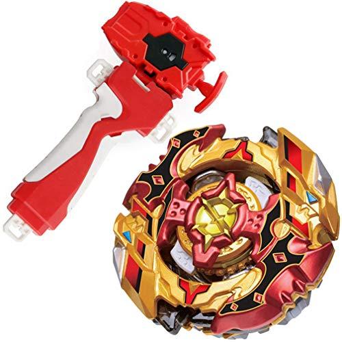 Bey Battle Evolution Blade Turbo Random Red String Launcher Grip God Bay B-128 Booster Super CHO-Z SPRIGGAN.OW.ZT Spinning Toy Games & Accessories Bey Burst Gaming Battling Tops Starter Set Boy's Gift