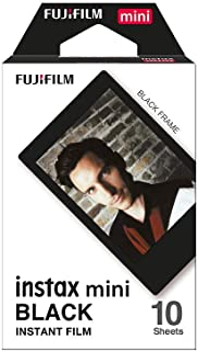 Fujifilm Instax Mini Black Film - 10 Exposures
