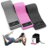 Tongsky Resistance Bands for Legs and Butt Exercise Bands Fitness Bands, Resistance Loops Hip Thigh...