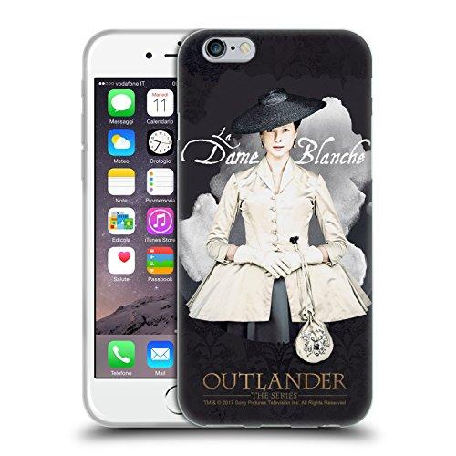 Head Case Designs Licenciado Oficialmente Outlander La Dame Blanche Retratos Carcasa de Gel de Silicona Compatible con Apple iPhone 6 / iPhone 6s