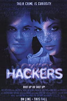 Pop Culture Graphics Hackers 11x17 Movie Poster  1995