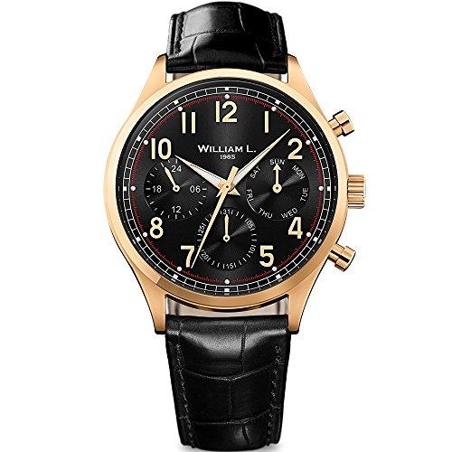 Reloj William L. - para Hombre WLOJ03NROJCN