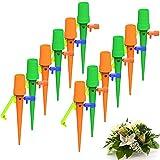 KKshop Riego por Goteo Automático Kit, 12Pcs Dispositivo de Riego de Plantas Flujo de Agua...