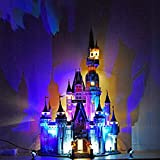 Lingxuinfo LED Lighting Kit Compatible with Lego Disney Castle 71040 (Lego Set NOT Included)