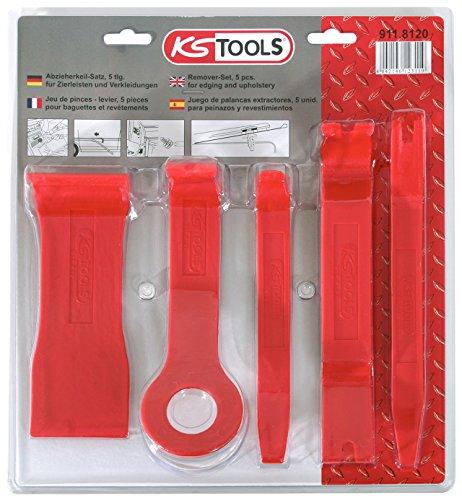 KS Tools 911.8120 Kunststoffkeil-Satz, 5-tlg.