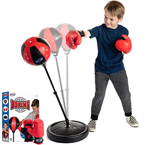 NSG Punching Bag and Boxing Gloves Set...