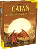 CATAN - Treasure, Dragons and Adventurers - Expansion | Strategy Game | Family Game for Teens and Adults |Ages 12+ | for 3 to 4 Players | Average Playtime 1 - 3 Hours | Made by Catan Studio