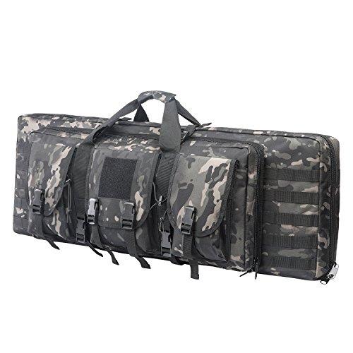 ARMYCAMO 42 Inch Double Rifle Bag Outdoor Tactical Carbine...