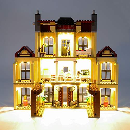 POXL Licht LED Beleuchtungsset Kit Für Lego Jurassic World Indoraptor Verwüstung des Lockwood 75930 Beleuchtung - Ohne Lego Set
