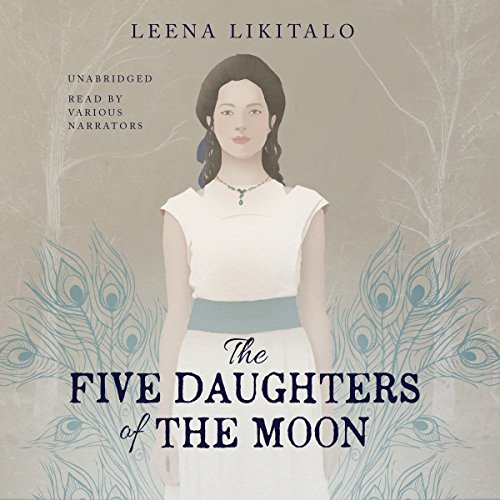 The Five Daughters of the Moon audiobook cover art