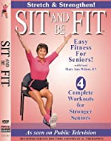 Sit & Be Fit: Stretch & Strengthen [DVD] [Import]