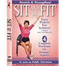 Sit And Be Fit Stretch And Strengthen Award-Winning Senior Fitness Chair Exercise Workout Stretching, Strength Training, and Balance. Improve flexibility, muscle and bone strength, circulation, heart health, and stability, Developed By Mary Ann Wilson, RN