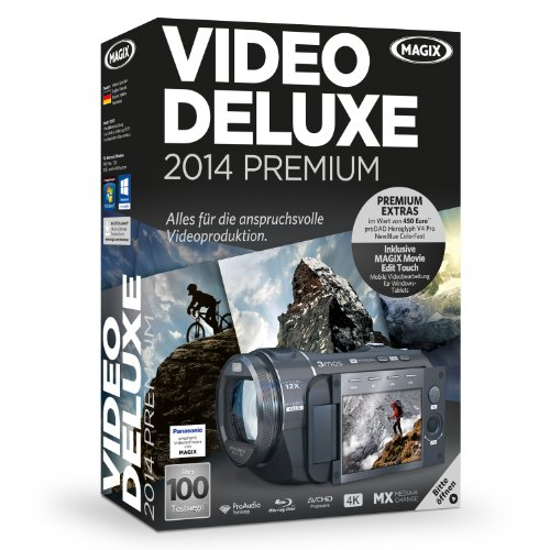 MAGIX Video deluxe 2014 Premium [import allemand]