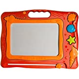 Magnetic Drawing Board Tablet - Seashell Ocean Friends Drawing, Writing, Erasable Magic Drawing Board! (Red)