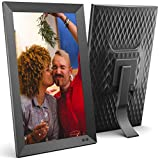 Cornice digitale USB NIX 15.6 pollici - Supporto per ritratti o paesaggi, Full HD, auto-rotazione, telecomando magnetico - Mescolate le vostre foto e i vostri video nella stessa presentazione