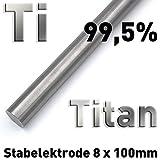 titan metallic ch 703 ral Referenzelektrode für Experimente in der Elektrochemie (Galvanik, Elektrolyse, Ionenwanderung, Bestimmung elektrochemischer Potentiale etc.)