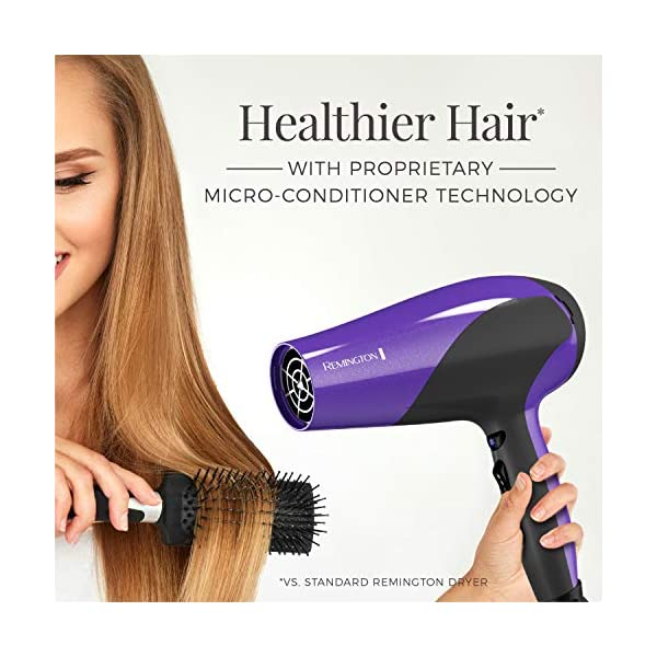 Beauty Shopping Remington D3190 Damage Protection Hair Dryer with Ceramic + Ionic