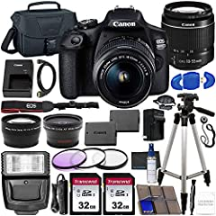 """24.1MP APS-C CMOS Sensor; DIGIC 4+ Image Processor 3.0"""" 920k-Dot LCD Monitor; Full HD 1080/30p Video Recording 9-Point AF with Center Cross-Type Point; ISO 100-6400, Up to 3 fps Shooting Built-In Wi-Fi with NFC; Creative Filters and Creative Auto Mod..."""