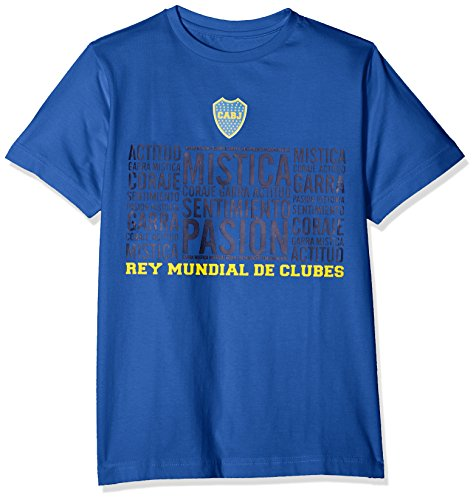 Boca Juniors Mistica Camiseta, Niños, Azul, M