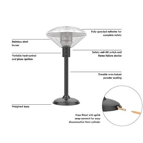 Table Top Patio Heater Amazon Co Uk