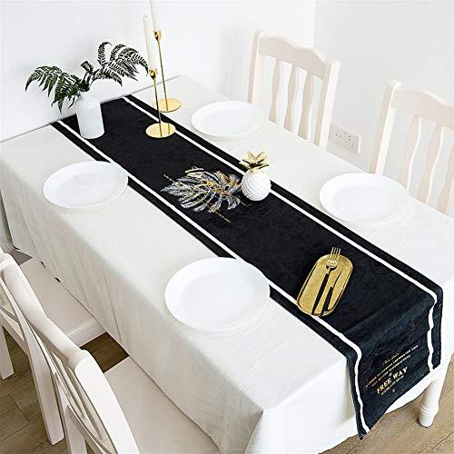 no brand Table Bande Runne Long comptoir TV Table Basse en Tissu avec lit Serviette Serviette lit Drapeau Fête de la décoration (Size : 32 * 190cm)