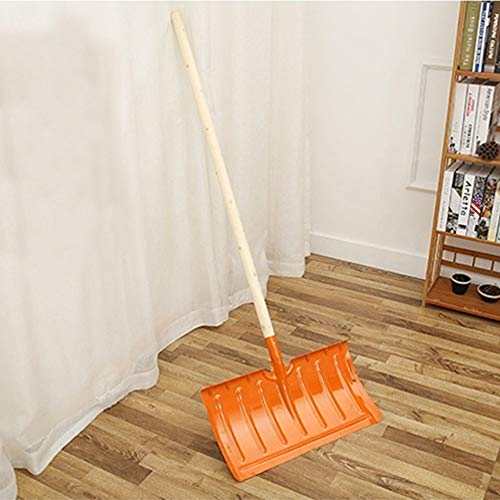 Fantastic Deal! Bishelle Heavy Snow Shovel Oversized Snow Shovel for Camping and Other Outdoor Activ...