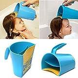 ACOMG Shampoo Rinse Cup, Kinderbadetasse zum Waschen der Haare, Haarspülbecher Fit für Kinder und alte Menschen, Baden ohne Tränen