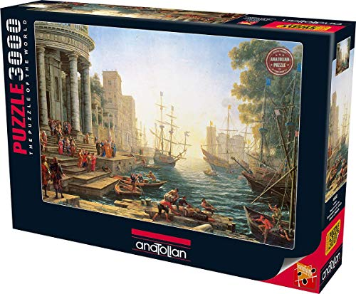 Perre Group Seaport with The Embarkati Jigsaw Puzzle (3000-Piece)