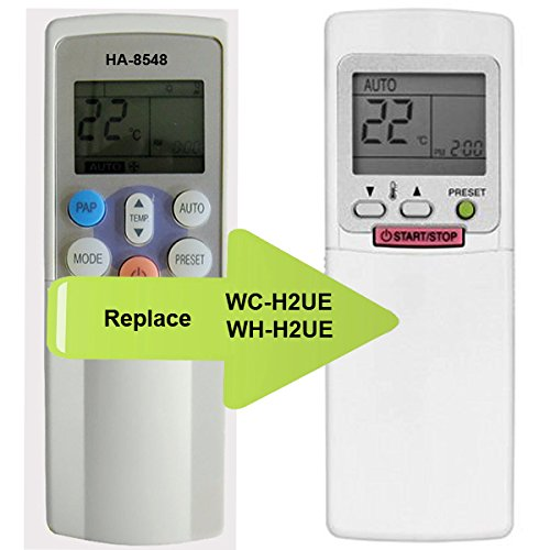 ha-8548Ersatz TOSHIBA Klimaanlage Fernbedienung Modell Nummer (Artikelnummer) wh-h2ue wc-h2ue