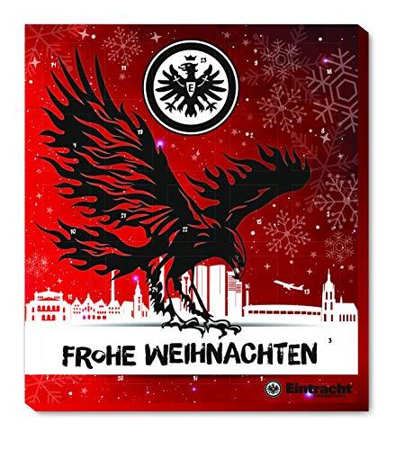 Eintracht Frankfurt Adventskalender, Weihnachtskalender mit Vereinsposter und Sticker Wir Leben Fußball
