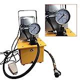 SHIOUCY Elektrohydraulikpumpe Mit Manuelle Einzel-wirkende Hydraulikaggregat 7L 700Bar -