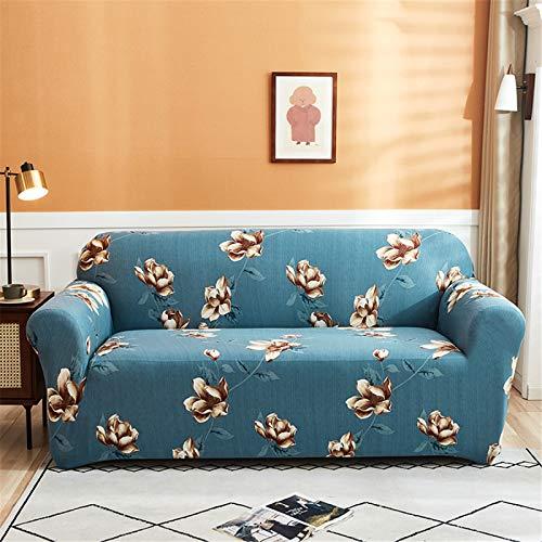Funda De Sofá Elástica/Funda De Sofá Funda Protectora De Sofá Decorativa Universal/Cojín Protector De Sofá De Sala De Estar En Casa 2 Seater (145-185 cm)