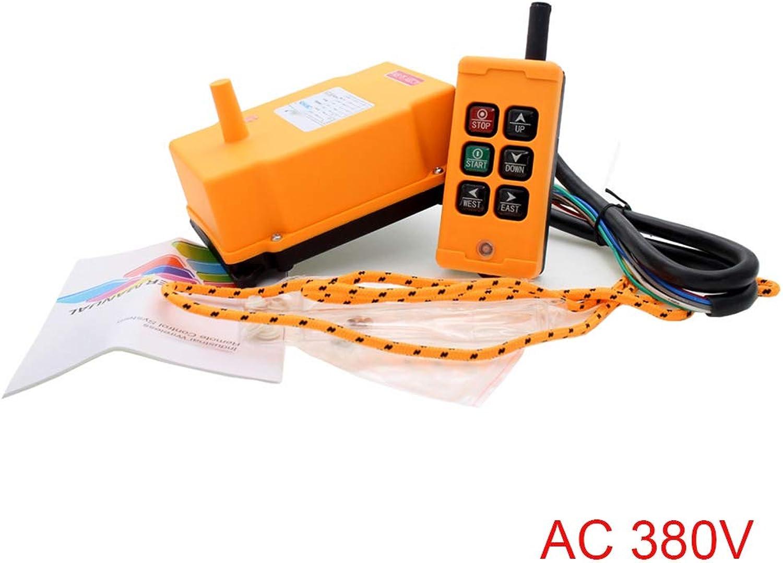 Sunlera Industrielle Fernbedienung HS-6 Wireless Transmitter Push Button Switch Kransteuerung Receiever B07Q9PMXMR | Hervorragende Eigenschaften