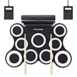Electronic Drum Set, 9 Pads Electric Drum Set with Headphone Jack, Built in