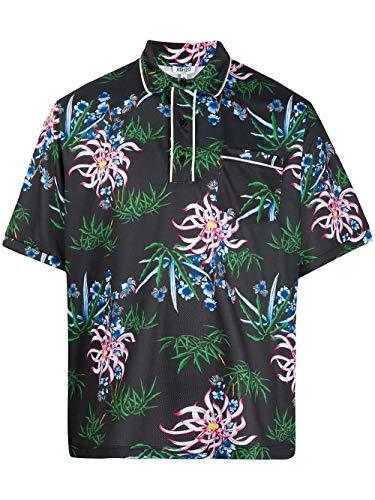 Kenzo Luxury Fashion Herren FA55PO2124DA99 Schwarz Polyester Poloshirt | Frühling Sommer 20