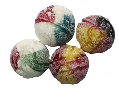 erdnuss-king 4 Länder In Flaggen Farben Deutschland - Italien - Frankreich und Spanien alle vier Bonbon 1 kg vereint in einer Mischung