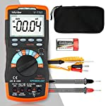 INFURIDER Digital Multimeter YF-770T 6000 Counts TRMS DMM CATIII 1000V,Auto Ranging,Data Hold,NCV,AC/DC Amp Ohm Volt Meter hFE Diode LED Capacitor Tester with Thermometer and Backlit