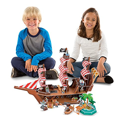 Melissa & Doug Pirate Ship 3-D Puzzle...